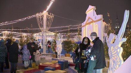 В новогодние праздники площадь Ленина в Воронеже посетили 185 тыс. человек