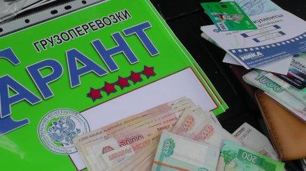 В Воронеже заработавшие на дальнобойщиках 7 млн рублей чиновник и гаишник пойдут под суд