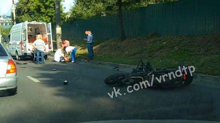 Появилось видео с последствиями смертельного ДТП с участием мотоциклиста и пешехода
