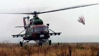 В Воронеже прошли совместные учения милиционеров и лётчиков