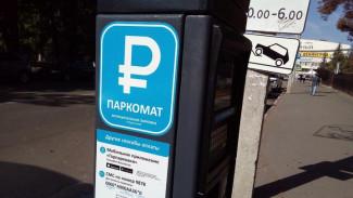 Первый день работы платных парковок обошёлся воронежцам более чем в миллион рублей