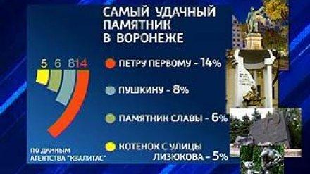 Воронежцы выбрали самые удачные с художественной точки зрения памятники
