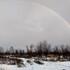 Небо над воронежским райцентром украсила огромная январская радуга