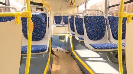 В Воронеже выйдут на линию два автобуса с изменённым маршрутом