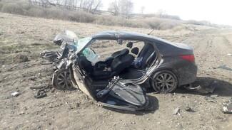 В Воронежской области столкнулись две иномарки: 1 человек погиб и 4 пострадали