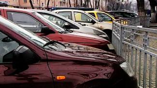 Воронежские власти определили границы и стоимость платных парковок в центре