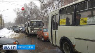 Рабочая неделя в Воронеже завершилась 9-балльными пробками