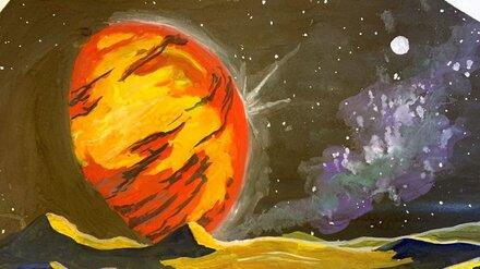 Воронежцы сделали видеоролики и рисунки о космосе и атомной энергетике