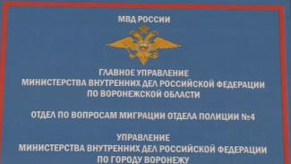 В Воронеже экс-глава полицейского отдела миграции получил реальный срок за взятку