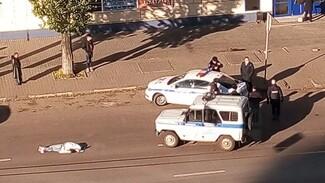 В Воронеже насмерть сбивший женщину полицейский УАЗ спешил на срочный вызов о минировании