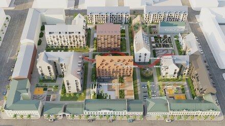 Студентку наградили за проект реконструкции квартала в центре Воронежа
