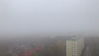 Сильный туман накрыл Воронеж в канун Хеллоуина