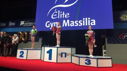 Воронежская гимнастка взяла «золото» на турнире во Франции