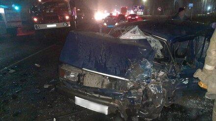 В Воронежской области в массовом ДТП с фурой пострадали 2 человека