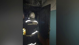 Пожар в воронежской пятиэтажке закончился эвакуацией жильцов