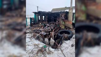 Воронежский СК показал фото с места пожара с 3 погибшими