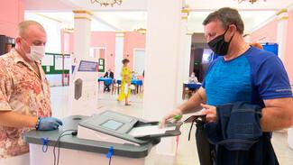 В масках и перчатках. Как воронежцы голосовали по поправкам в Конституцию