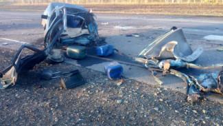 В Воронежской области при лобовом столкновении 2 авто погиб мужчина