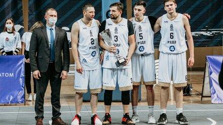 Команда Нововоронежской АЭС победила на фестивале баскетбола среди команд ЦФО
