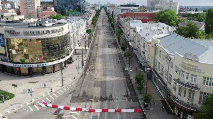 Перекрытый проспект Революции в Воронеже защитят от лихачей на иномарках