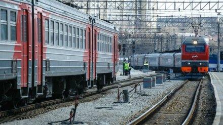 Дополнительные поезда свяжут Воронеж с пригородом из-за ремонта виадука на 9 Января