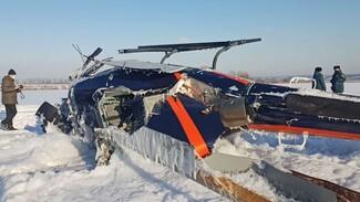 Упавший под Воронежем вертолёт принадлежит частной компании