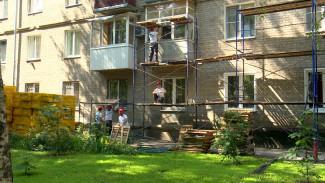 В Воронежской области до конца года капитально отремонтируют более 500 домов