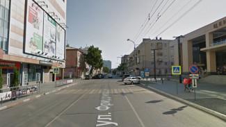 Воронежцев возмутило исчезновение пешеходного перехода у Центрального рынка