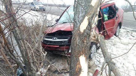 Под Воронежем автомобилистка вылетела в кювет и погибла