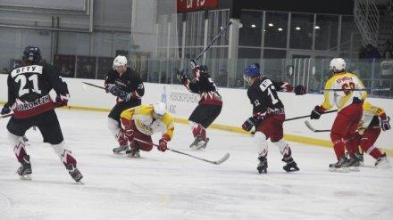 В Нововоронеже прошёл матч в рамках Чемпионата России по хоккею