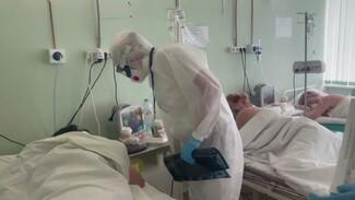 Более 1,7 тыс. заражённых ковидом воронежцев попали в больницы за два дня