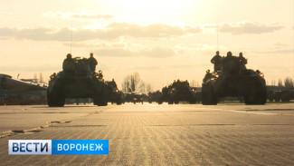 В Воронежской области начались репетиции парада военной техники ко Дню Победы