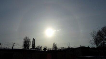 В небе над Воронежем заметили первое весеннеe гало