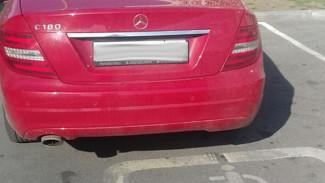 В Воронеже автомобилистку на Mercedes по жалобе в соцсети оштрафовали на 5 тыс. рублей