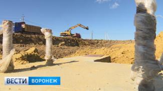 В Семилукском районе началось строительство мусоросортировочного завода