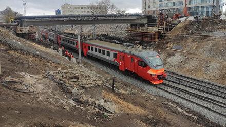 Поезда вернулись на главный вокзал Воронежа после сноса виадука у «Работницы»