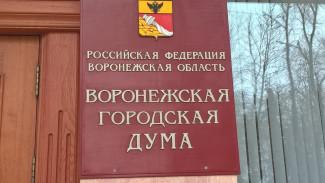 Городская дума утвердила бюджет Воронежа на 2020 год