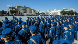 В Воронеже приняли присягу 1612 курсантов Военно-воздушной академии