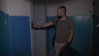 Жильцов воронежской многоэтажки оставили без лифта на полгода