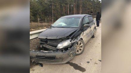 Водитель из Тамбова попал в ДТП на воронежской трассе: пострадали двое детей