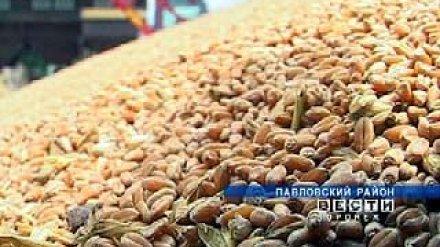 Первый миллион тонн зерна собран в Воронежской области