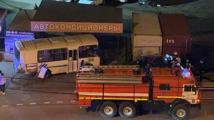 В Воронеже пьяный автомобилист устроил смертельное ДТП с автобусом и «Газелью»
