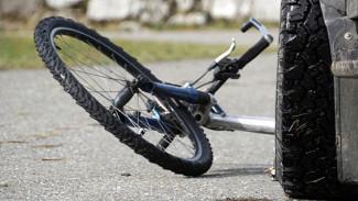 В Воронежской области упавший на дорогу 6-летний велосипедист попал под машину