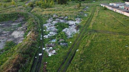 Воронежцы сообщили об огромных свалках на Левом берегу
