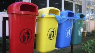 В воронежских дворах появятся разноцветные мусорные контейнеры