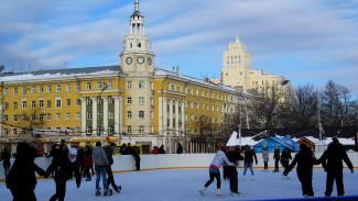 3,5 млн рублей позволят расширить каток на главной площади Воронежа