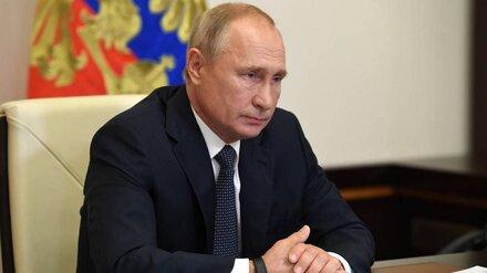 Владимир Путин поздравил «Единую Россию» с победой на выборах
