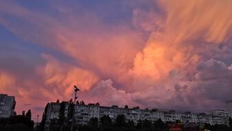 Метеоролог назвал причины красивейших розовых закатов в Воронеже
