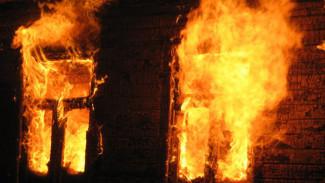 В Воронежской области при пожаре погибли трое мужчин