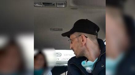 Полиция прокомментировала закончившуюся побоями ссору таксиста и пассажирки в Воронеже